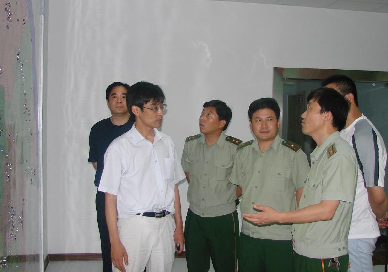 2006.06.27 盐城支队来访视察调研