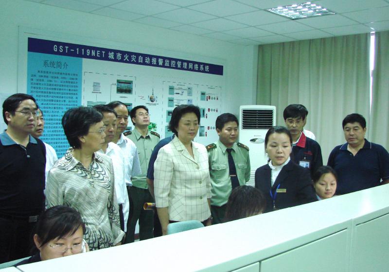 2011.11.30 人大代表莅临视察指导工作